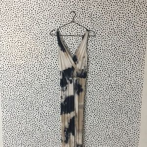 Earthbound Tie Dye Stretchy Jumpsuit